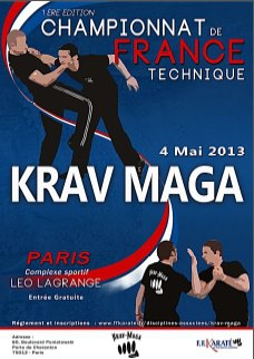 championnat france technique krav maga - selfbodyguard