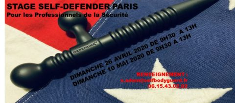 ANNULATION COVID-19 – STAGE SELF-DEFENDER PARIS